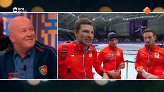 Sportverslaggever Bert Maalderink over de interviews tijdens de Winterspelen