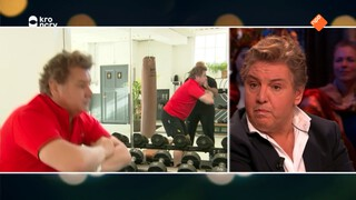 René Froger en Anne-Marie Jung over hun afvalrace in het tv-programma 'Vet Fit'