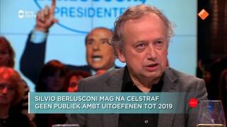 Jort Kelder en Henk Bleker bespreken het politiek fenomeen Berlusconi