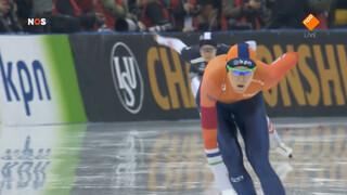 Ter Mors zegeviert op 1000 meter WK sprint