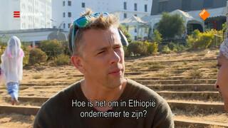 Waldemar in het hart van Addis