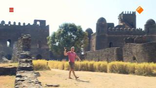 Een middeleeuws kasteel in Ethiopië