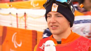 Snowboarder Chris Vos wint zilver