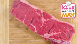 Kook Mee Met Max - Gebakken Aardperen Met Biefstuk En Saus