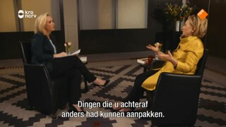 Eva Jinek meets Hillary Clinton