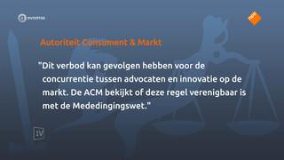 ACM: onderzoek naar Nederlandse Orde van Advocaten