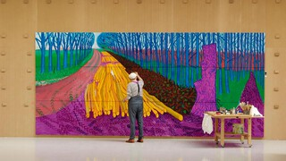 Close Up - David Hockney - 80 Jaar