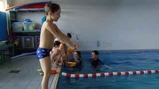 Douche: Zwemschool Zwemles4
