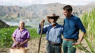 Over de rug van de Andes Het eeuwige leven (Ecuador)