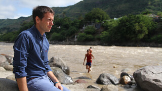 Over de rug van de Andes De moeder van Colombia (Colombia)