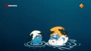 De Smurfen Een driftige vis