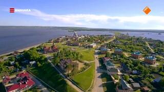 Maurice bezoekt het schiereiland Sviyazhsk