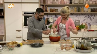 Kook mee met MAX Aspergesoep met luxe eggs benedict