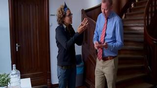 De pittige discussie van Lucia en Eric