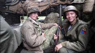 Nicolaas op oorlogspad Band of Brothers