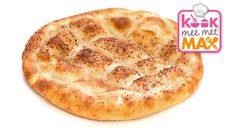 Kook mee met MAX Makkelijke pizza van Turks brood