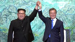 Noord- en Zuid-Korea willen vrede en ontwapening