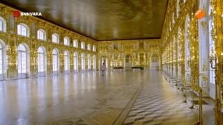 Maurice bezoekt het Catharinapaleis in Sint-Petersburg