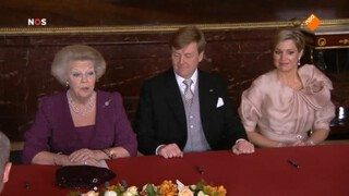 NOS Koningshuis NOS De inhuldiging van Willem-Alexander