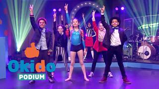 Kinderen voor Kinderen Pakt Uit Okido podium aflevering 5 - finale