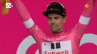 Dumoulin eerste drager roze trui Giro d'Italia