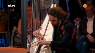 Remy van Kesteren en de grootste harp ter wereld