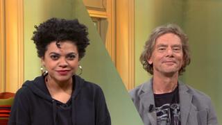 Radna Fabias en Luuc Kooijmans