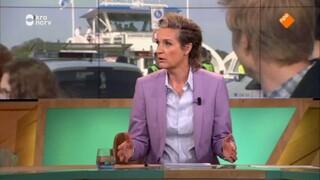 M Huib Modderkolk , Renate van der Bas, Angela de Jong en Haro Kraak en Arjen Lubach.
