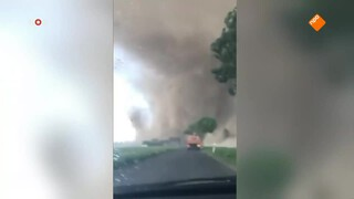Tornado vlak bij Venlo
