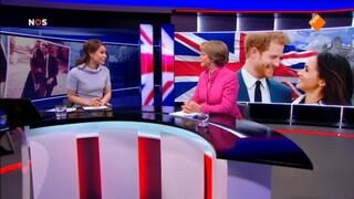 NOS Journaal: Bruiloft van prins Harry met Meghan Markle