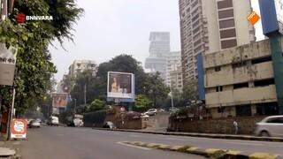 Geraldine bezoekt een van de sloppenwijken in Mumbai: Dharavi