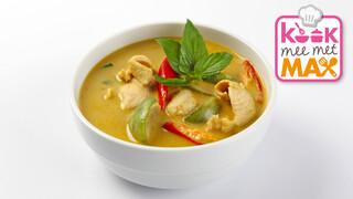Kook mee met MAX Thaise kippensoep met courgette