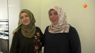 Ramadan-helden helpen vluchtelingenvrouwen