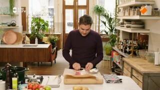 Dagelijkse Kost Soepje van waterkers en spinazie
