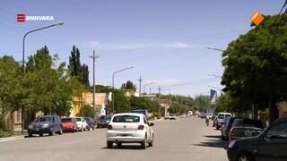 Chris bezoekt het dorp Gaiman in Patagonië