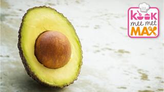 Kook Mee Met Max - Noedelsalade Met Mango-avocadosaus En Omeletreepjes