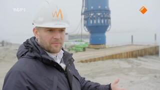 Hoe reduceert de industrie geluid op zee?
