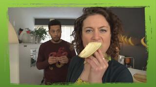 De banaan gaat eraan?