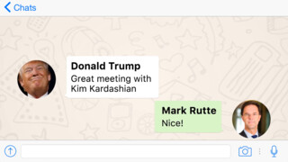 Politieke ontmoetingen