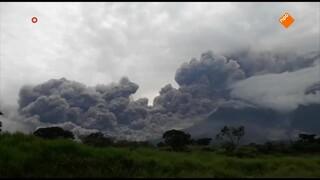 Doden na vulkaanuitbarsting Guatemala