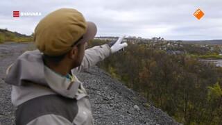 Maurice bezoekt de Zweedse stad Kiruna