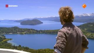 Chris rijdt langs de mooiste meren van Patagonië!