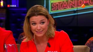 Presentatrice Evi Hanssen als stand-up comedian