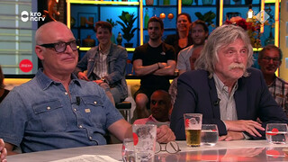 Johan Derkens en René van der Gijp, Martijn Koning, Joost Vullings ea