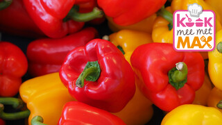 Kook mee met MAX Gevulde paprika's met rijst en tomatenchutney