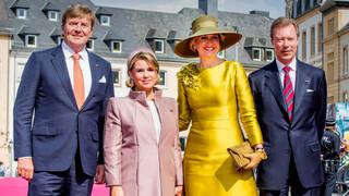 Kroonprins Frederik 50 jaar en Staatsbezoek aan Luxemburg