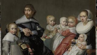 Kunstraadsels Portret met twee tweelingen