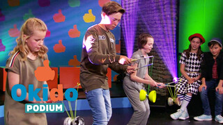 Kinderen voor Kinderen Pakt Uit Okido Podium 2 aflevering 3 - voorrondes