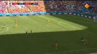 Nos Wk Voetbal - Frankrijk - Australië Tweede Helft