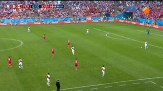Nos Wk Voetbal - Peru - Denemarken Tweede Helft